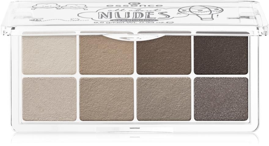 Тени для век - Essence All About Eyeshadow Palettes