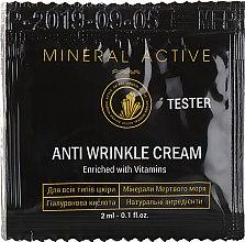 Духи, Парфюмерия, косметика Крем против морщин - Satara Mineral Active Anti Wrinkle Cream (пробник)