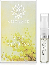 Духи, Парфюмерия, косметика Amouage Love Mimosa - Парфюмированная вода (пробник)