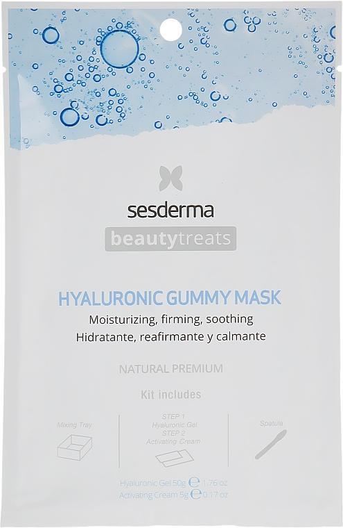 Увлажняющая альгинатная маска - SesDerma Laboratories Beauty Treats Hyaluronic Gummy Mask