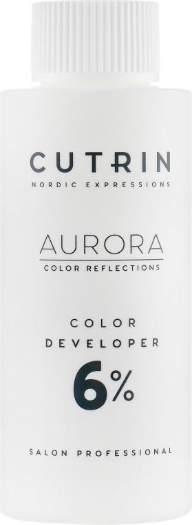 Окислитель 6% - Cutrin Aurora Color Developer — фото N1