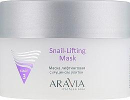 Духи, Парфюмерия, косметика Маска для лица с муцином улитки - Aravia Professional Snail-Lifting Mask