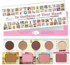 Духи, Парфюмерия, косметика Палетка для макияжа - theBalm In TheBalm Of Your Hand Greatest Hits Volume 2 Palette