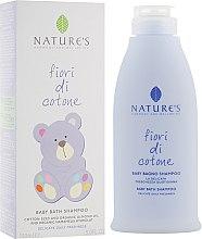 Парфумерія, косметика Шампунь дитячий - Nature's Fiori Cotone Baby Bath Shampoo