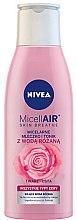Духи, Парфюмерия, косметика Мицеллярное молочко-тоник + розовая вода - Nivea MicellAir Skin Breathe
