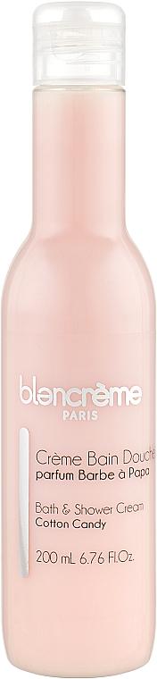 """Крем-гель для душа и ванны """"Сахарная вата"""" - Blancreme Foaming Cream"""