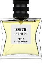 Духи, Парфюмерия, косметика SG79 STHLM №16 - Парфюмированная вода (тестер с крышечкой)