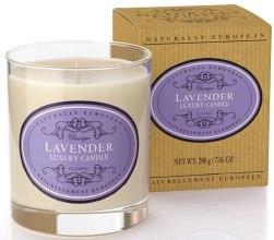 "Духи, Парфюмерия, косметика Свеча ароматическая ""Лаванда"" - Naturally European Luxury Scented Candle Lavender"