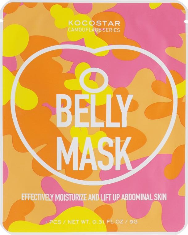 Маска для живота с термо эффектом - Kocostar Camouflage Belly Mask