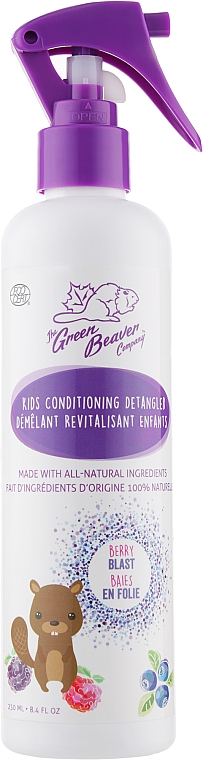 Кондиционер для распутывания волос, детский - Green Beaver Kids Conditioning Detangler