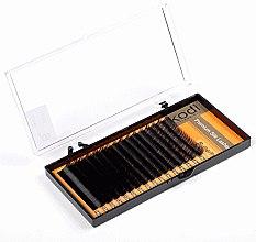 Духи, Парфюмерия, косметика Накладные ресницы Butterfly B 0.10 (16 рядов: 10 мм) - Kodi Professional