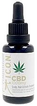 Духи, Парфюмерия, косметика Масло для волос тела и кожи головы - I.C.O.N. Organic CBD Oil 1000 mg Scalp Hair & Body Treatment