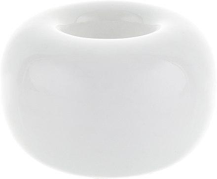 Керамическая подставка для зубных щеток, белая - BaiduBj — фото N1