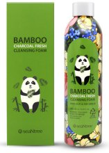 Духи, Парфюмерия, косметика Пенка для умывания с бамбуковым углем - seaNtree Bamboo Charcoal Fresh Cleansing Foam