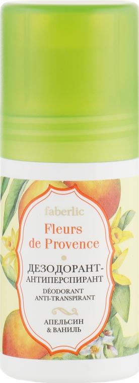 """Дезодорант-антиперспирант """"Апельсин & ваниль"""" - Faberlic Fleurs de Provence"""