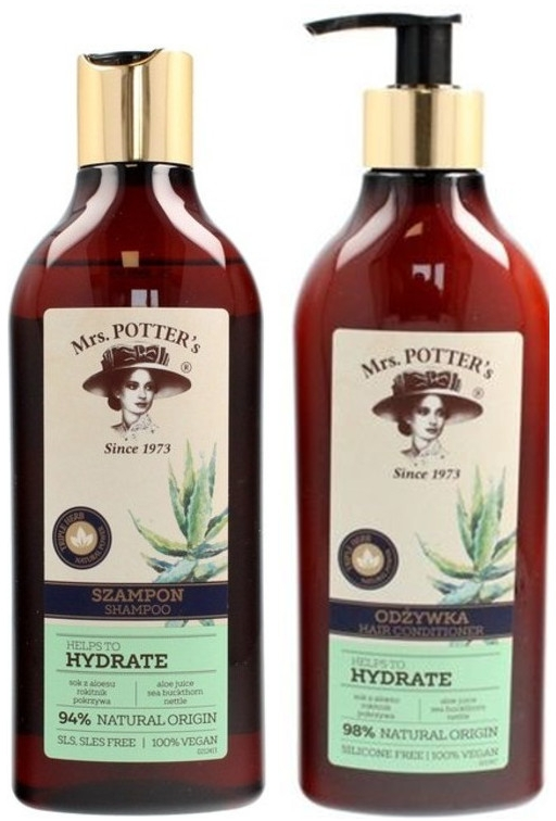 Набор - Mrs. Potter's Triple Herb (shm/390ml + cond/390ml)