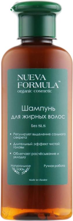 Шампунь для жирных волос - Nueva Formula