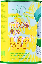 Духи, Парфюмерия, косметика Набор - Drunk Elephant Nice to Meet You (cr/15ml + clean/22g + boost/1g)