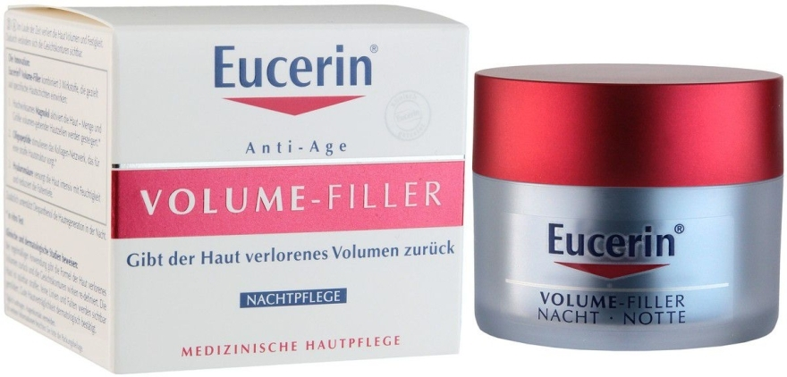 Ночной крем для восстановления контура лица - Eucerin Dermo Densifyer Nacht