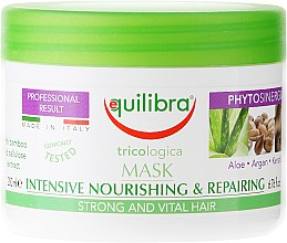 Духи, Парфюмерия, косметика Маска для волос интенсивно питающая и восстанавливающая - Equilibra Tricologica Intensive Nourishing & Repairing Mask