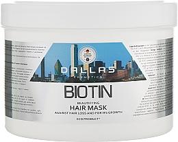 Духи, Парфюмерия, косметика Маска для улучшения роста волос с биотином - Dallas Cosmetics Biotin Beautifying