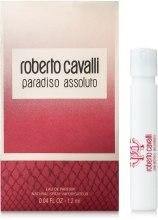 Духи, Парфюмерия, косметика Roberto Cavalli Paradiso Assoluto - Парфюмированная вода (пробник)