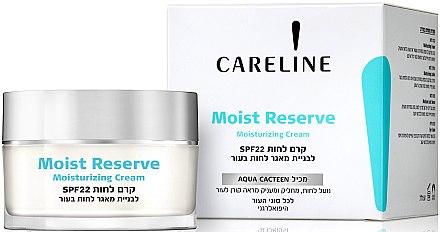 Увлажняющий крем для лица - Careline Moist Reserve Moisturizing Cream SPF 22