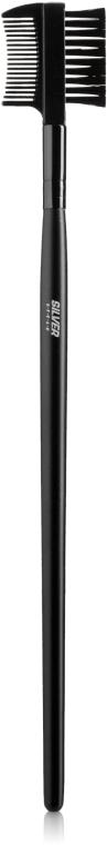 Щеточка-расческа для ресниц и бровей - Silver Style