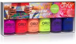 Духи, Парфюмерия, косметика Набор лаков для ногтей - Orly Six Pix Adrenaline Rush
