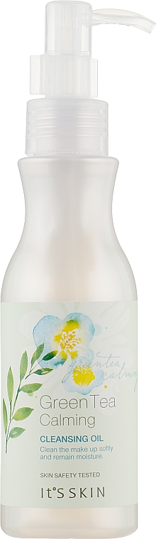 Успокаивающее гидрофильное масло - It's Skin Green Tea Calming Cleansing Oil
