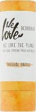 """Духи, Парфюмерия, косметика Твёрдый дезодорант """"Апельсин"""" - We Love The Planet Original Orange Deodorant Stick"""