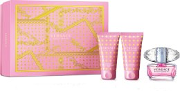 Духи, Парфюмерия, косметика Versace Bright Crystal - Набор (edt/50ml + b/lot/50ml + sh/gel/50ml)