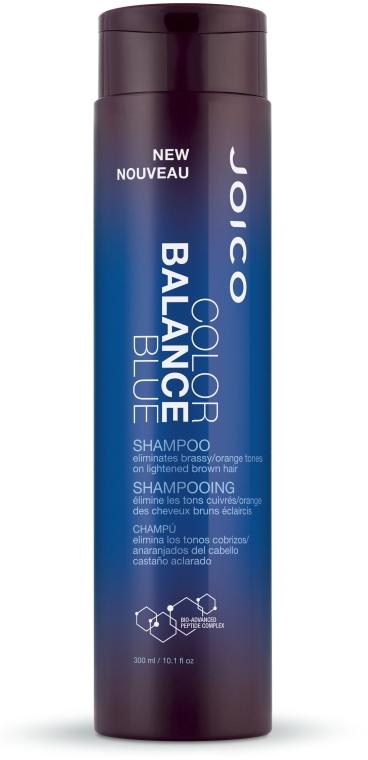 Оттеночный шампунь для поддержания холодных оттенков - Joico Color Balance Blue Shampoo