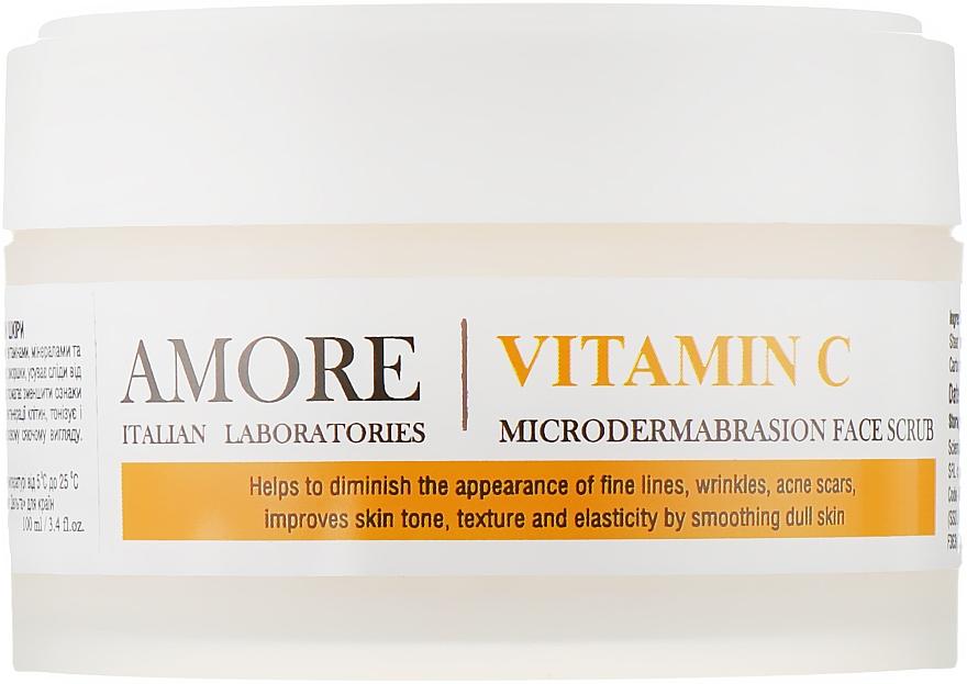 Концентрированный скраб-пилинг для микрошлифовки кожи - Amore Vitamin C Microdermabrashion Face Scrub