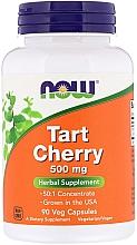 "Духи, Парфюмерия, косметика Капсулы ""Экстракт дикой вишни"" - Now Foods Tart Cherry 500mg Veg Capsules"