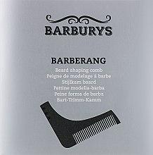 Духи, Парфюмерия, косметика Гребень для расчесывания бороды - Barburys Barberang Beard Shaping Comb
