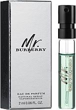 Духи, Парфюмерия, косметика Burberry Mr. Burberry - Парфюмированная вода (пробник)