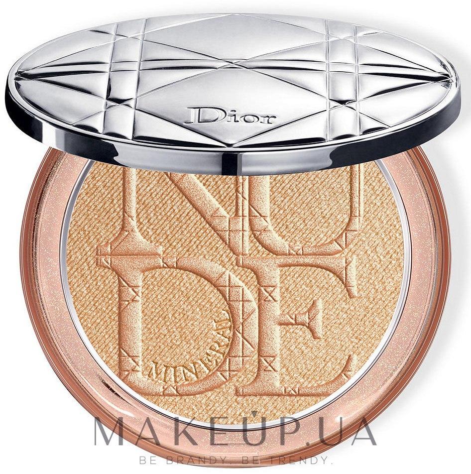 Рассыпчатая пудра для лица Dior Diorskin Nude Luminous