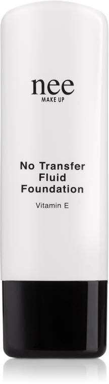 Устойчивая основа-флюид с витамином E - Nee Make Up No Transfer Fluid Foundation