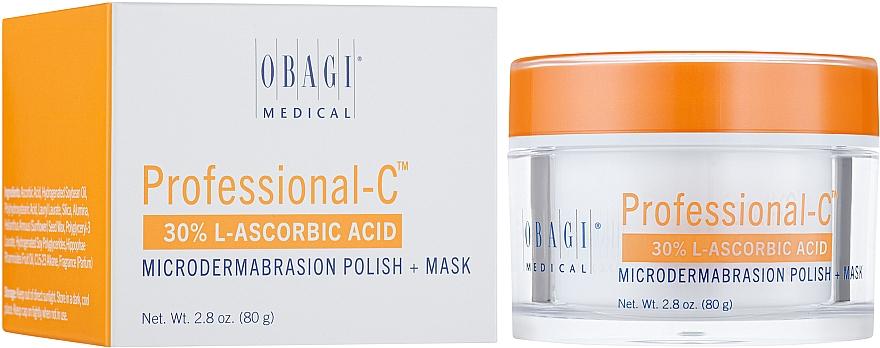 Маска-пилинг с 30% содержанием витамина С - Obagi Medical Professional-C Microdermabrasion Polish + Mask