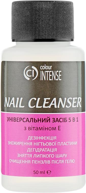Универсальное средство 5 в 1 - Colour Intense Nail Cleanser