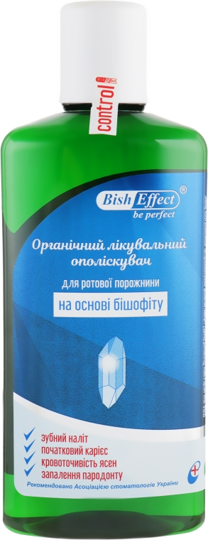 Органический лечебный ополаскиватель для полости рта - Bisheffect