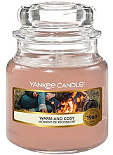 """Духи, Парфюмерия, косметика Ароматическая свеча в банке""""Тепло и уютно"""" - Yankee Candle Warm and Cosy"""