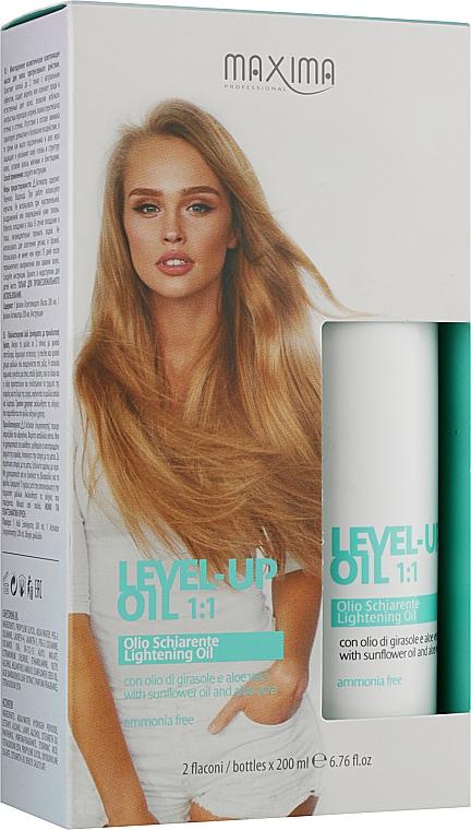 Многоцелевое косметическое осветляющее масло для волос прогрессивного действия - Maxima Level Up Oil