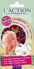 Духи, Парфюмерия, косметика Антивозрастная маска для лица на основе клюквы - L`Action Paris Do It Yourself Cranberry Anti-Aging Mask