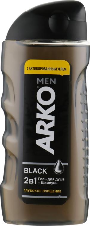 Гель для душа 2в1 - Arko Men Black