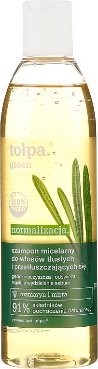 Нормализующий шампунь для жирных волос - Tolpa Green Shampoo