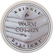 Духи, Парфюмерия, косметика Чайная свеча - Kringle Candle Warm Cotton