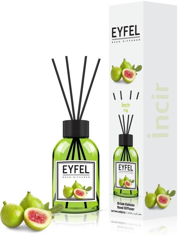 """Аромадиффузор """"Инжир"""" - Eyfel Perfume Reed Diffuser Figs"""