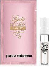 Духи, Парфюмерия, косметика Paco Rabanne Lady Million Empire - Парфюмированная вода (пробник)